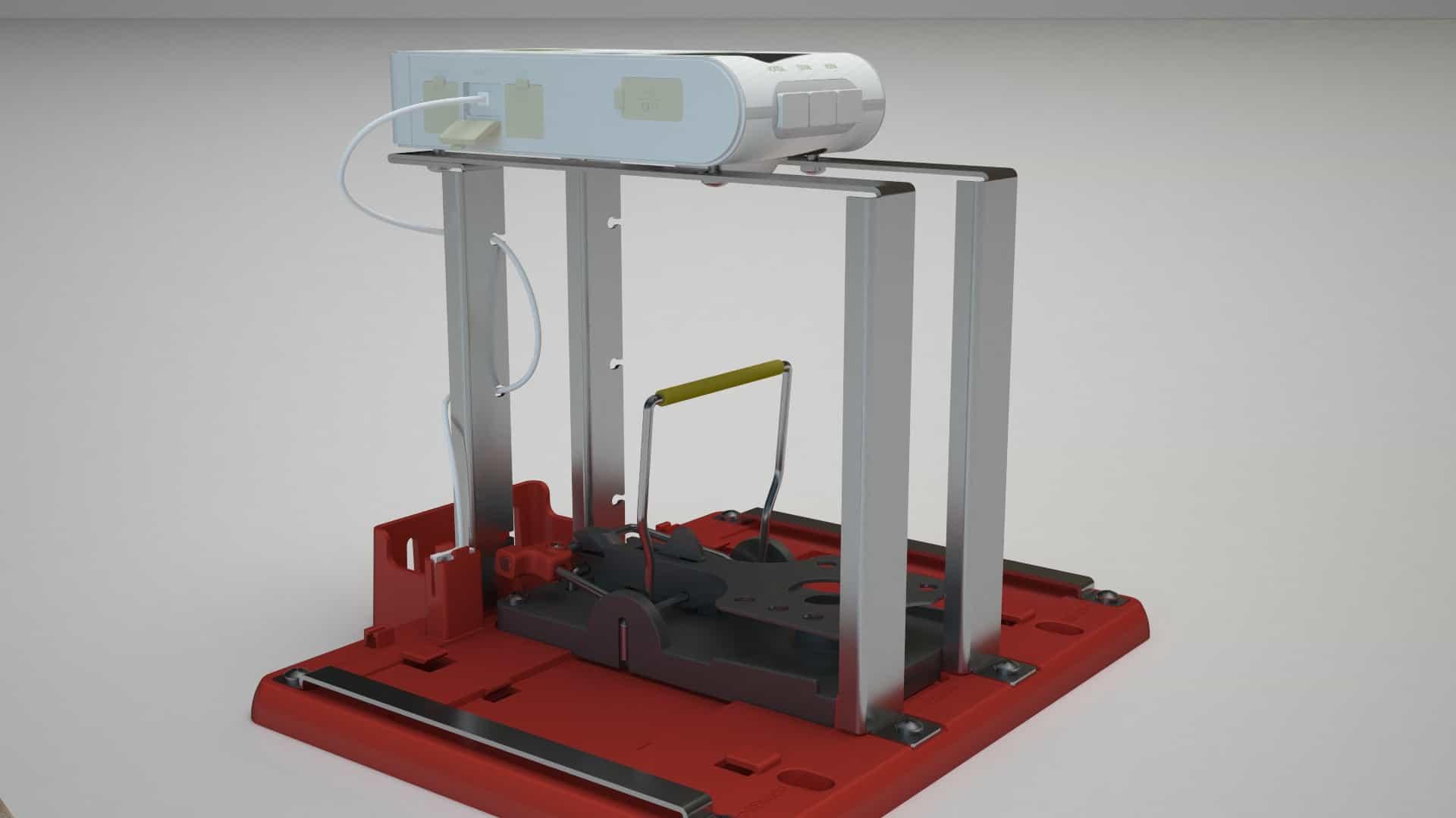 סרטון הדמיית מוצר מלכודת חכמה Square Eye- בטכנולוגיית Rigging - עבור IPM Square