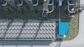 סרטון הדמיית מתחם תלת מימדית - תחנת כוח באיקיטוס, פרו